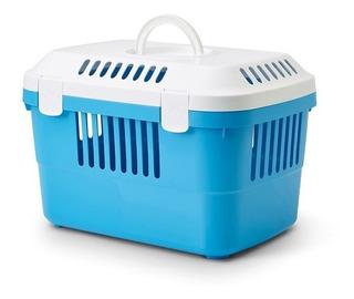Transportadora Gato Perro Savic Discovery Tapa 5kg Azul