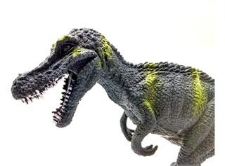 Dinosaurio Goma N52 Baryonyx Medio 20cm Juguete Dinos Juego
