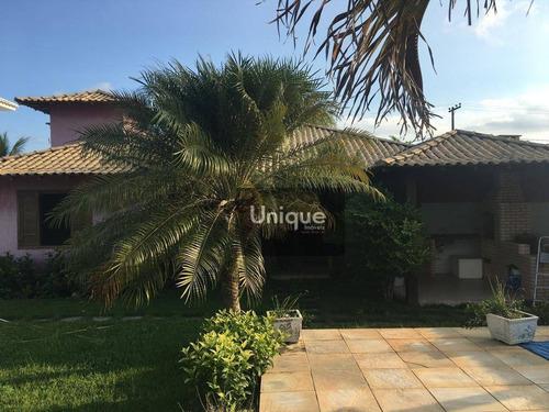 Casa Com 3 Dormitórios À Venda, 140 M² Por R$ 800.000,00 - Praia Caravelas - Armação Dos Búzios/rj - Ca0712