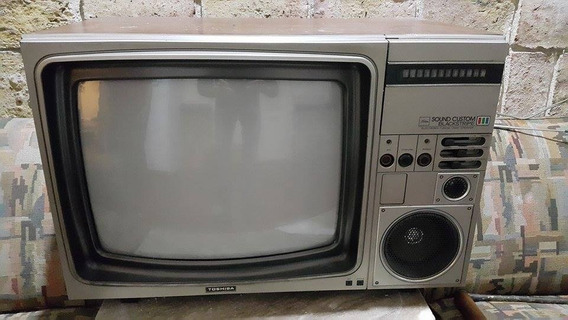 Vendo Tv Antigua Toshiba Como Nueva Para Colecionista