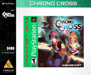 [ Chrono Cross ] Nuevo Envio Gratis Playstation Psx | Tracia