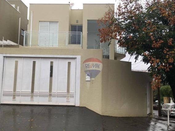 Sobrado Com 3 Dormitórios Para Alugar Por R$ 1.600,00/mês - Jardim Cambuí - Botucatu/sp - So0030