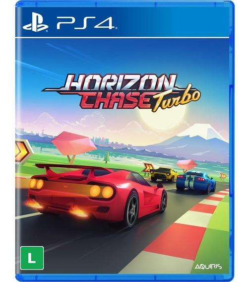 Jogo Horizon Chase Turbo Ps4 Midia Fisica Lacrado Nfe