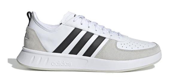 Zapatillas Hombre adidas Court80s Blanco - Corner Deportes