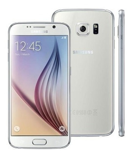 Celular Smartphone Samsung S6 Flat 32gb Branco Vitrine