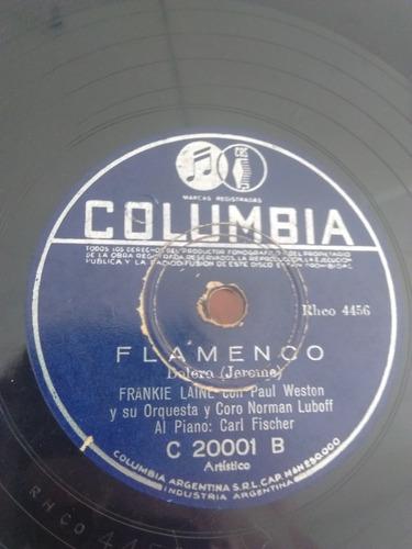 Frankie Laine Disco Pasta Columbia C20001 C25
