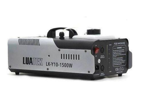 Máquina De Fumaça C/ 8 Leds Jato Até 8 Metros 1500w Potencia