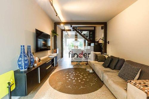 Imagem 1 de 23 de Casa À Venda Na Rua Costa Carvalho - Pinheiros. 120 M², Terraço, 2 Dormitórios, 1 Suíte, Escritório, Quintal E 1 Vaga. - Ca1018