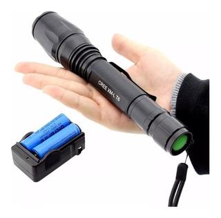 Lanterna Tática Swat 108000 Lumens Com Led T6 O Mais Potente