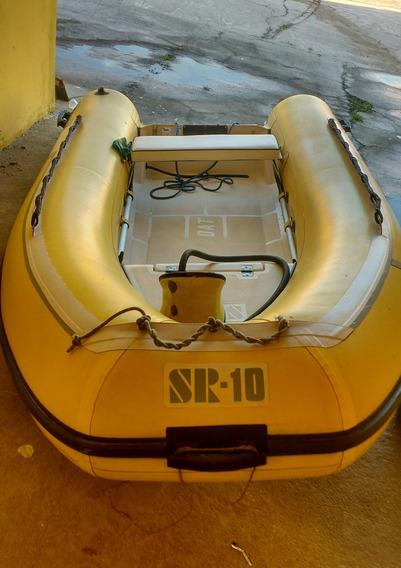 Bote Inflavel Sem Motor Flexboat Sr-10 Fundo Rígido