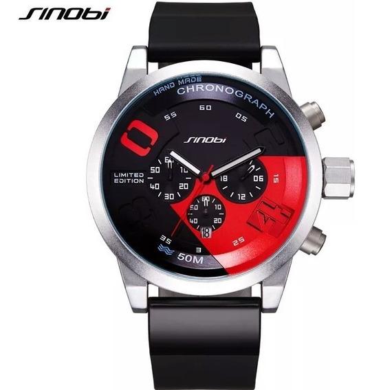 Relógio Sinobi Original Com Caixa