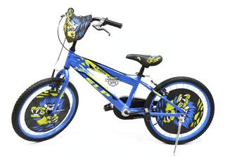 Bicicleta Infantil- Rodado 20 Slp Lion (niño-niña)