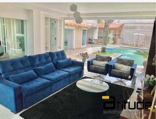 Imagem 1 de 15 de Casa A Venda - 4 Dormitórios - Piscina - Alphaville - Barueri - 4900