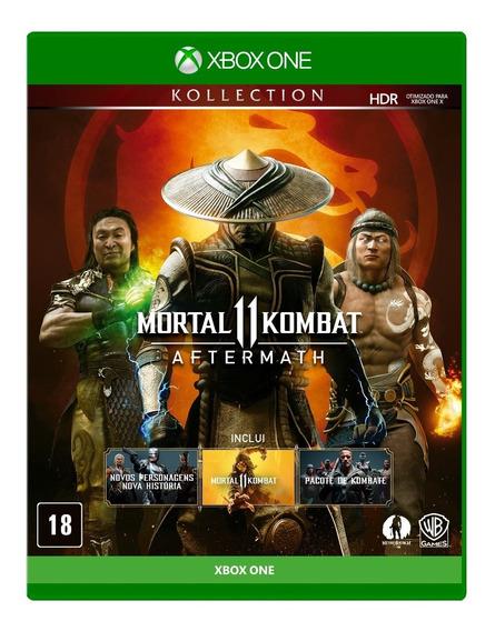Mortal Kombat 11 Aftermath Kollection Xbox One Mídia Física