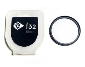 Filtro Uv 58mm Protetor Ultravioleta Com Caixinha E Nota