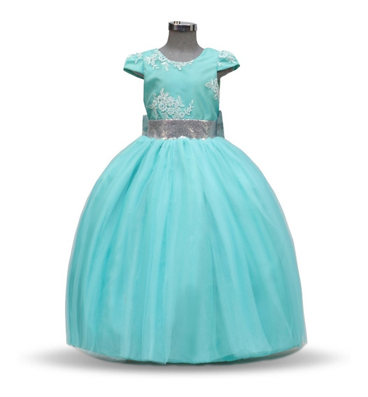 Vestido De Niña Fiesta Elegante Modelo 774