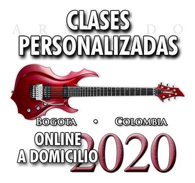 Clases De Guitarra Y Música Bogotá - Webcam, Domicilios