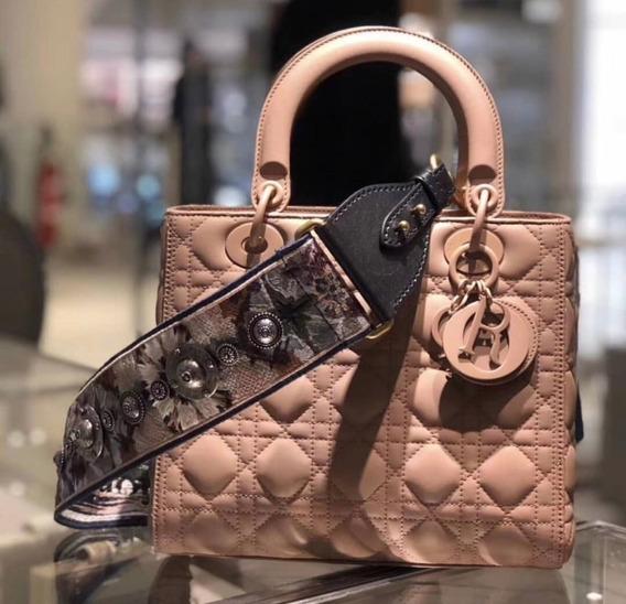 Lady Dior Ultra Matte Mini Tote 100% Couro Original
