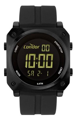 Relógio Condor Masculino Digital Cofo018ab/2c Preto Negativo