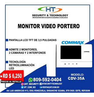 Intercom Commax Video Portero