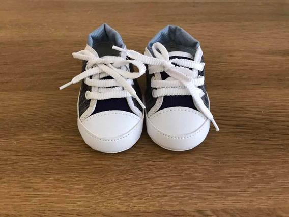 Sapatinho De Bebê Tipo Tênis.