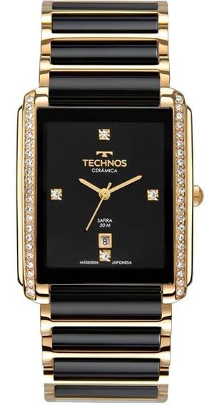 Relógio Technos Feminino Elegance Ceramic Gn10ay/9p