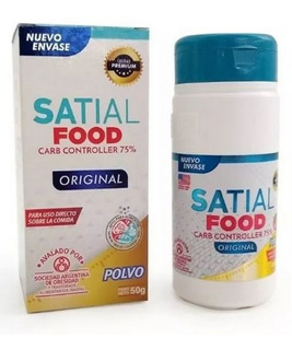 Satial Food Carb Controller Polvo 50g Bloquea Carbohidratos