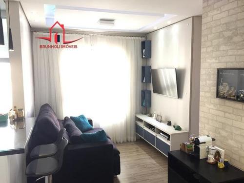 Apartamento A Venda No Bairro Colônia Em Jundiaí - Sp.  - 3186-1