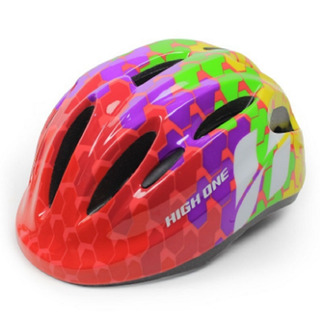 Capacete Ciclismo High One Infantil Piccolo Rosa