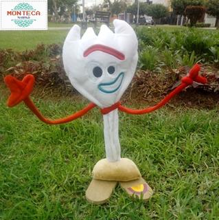 Muñeco Forky Toy Story 4 - Tamaño 36 Cms Alto