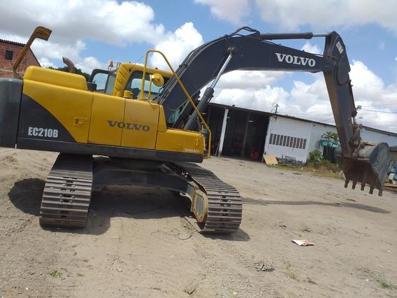 Escavadeira Volvo Ec210b