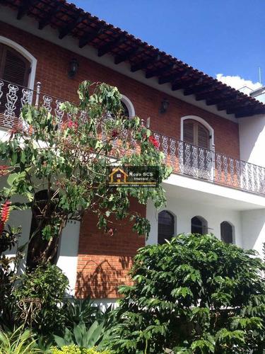 Imagem 1 de 10 de Sobrado Com 4 Dorms, Santa Maria, São Caetano Do Sul - R$ 1.9 Mi, Cod: 1155 - V1155