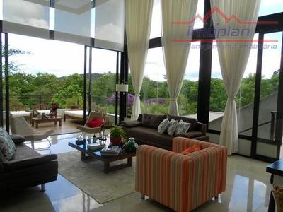 Moderna E Belíssima Casa Térrea Com 3 Dormitórios À Venda Em Condomínio Fechado - Atibaia/sp - Ca3485