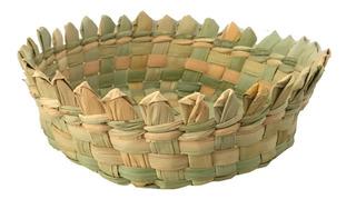Tortillero De Tule Pico; Artesanal; Tejido; Xv Años; Bautizo