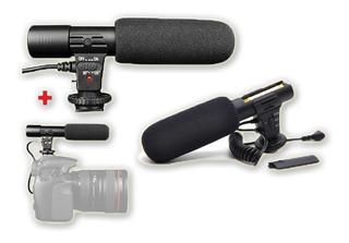 Profesional Microfono Nikon Canon, Estereo Camara Dslr