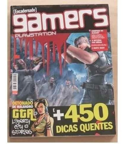 Revista Gamers Playstation - Gta Resident Evil Ps1 Ps2 Psp