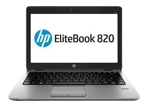 Notebook Hp Elitebook 820 Intel Core I5 4gb 320gb - Seminovo