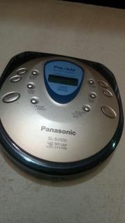 Discman Cd Player Panasonic Radio Am Fm Walkman Digital