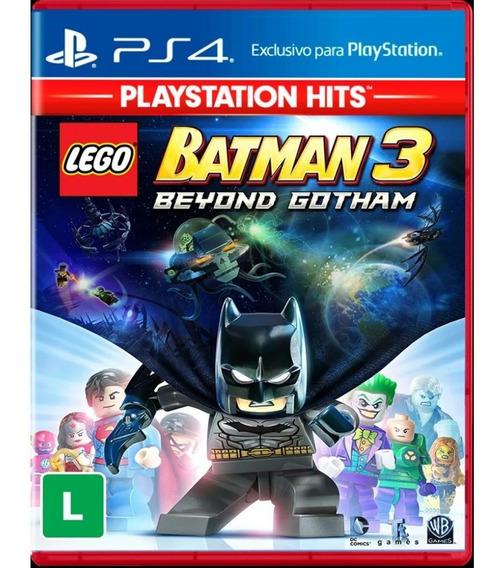 Jogo Lego Batman 3 Beyond Gotham Playstation Hits Ps4 Novo