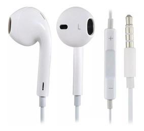 10 Fone De Ouvido Earpods In Ear De 3,5 Mm Branco