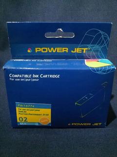 Cartucho Hp 02 Light Cyan Alternativo Powertec
