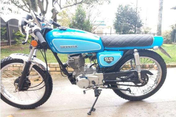 Honda Cg 125 Custom