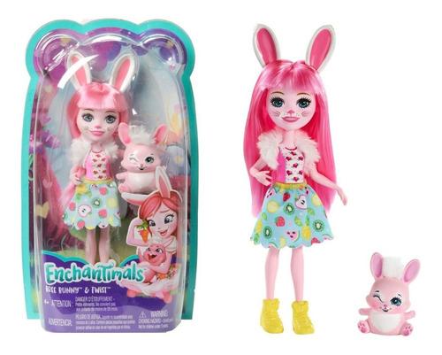 Imagen 1 de 4 de Enchantimals Pesonaje Bree Bunny Y Twist