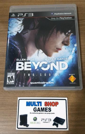 Beyond Two Souls Ps3 Em Inglês Semi Novo