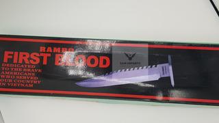 Faca Rambo 2 Party First Blood Frete Gratis