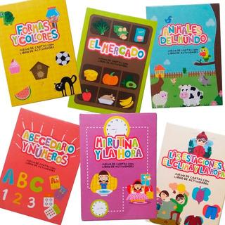 Cartas Didácticas Infantiles X 6 - Juguetes Didácticos