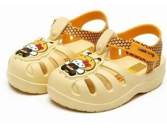 Crocks Hello Kitty Grendene Kids Infantil Bebe Promoção