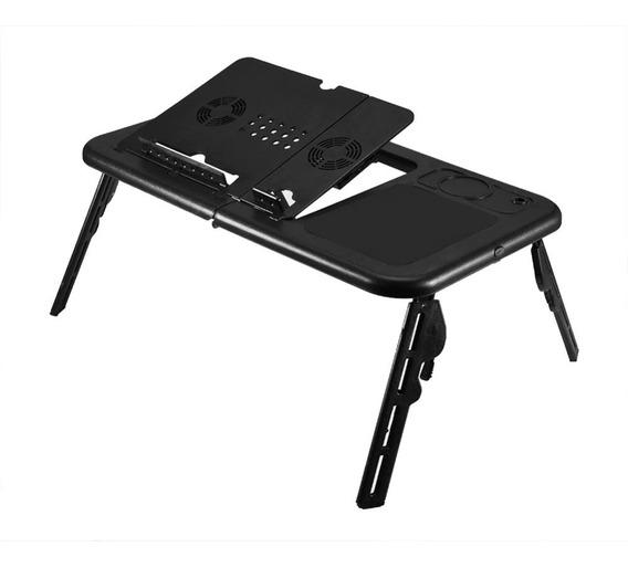 Mesa Notebook Cama Dobravel Com 2 Coolers Usb Articulado