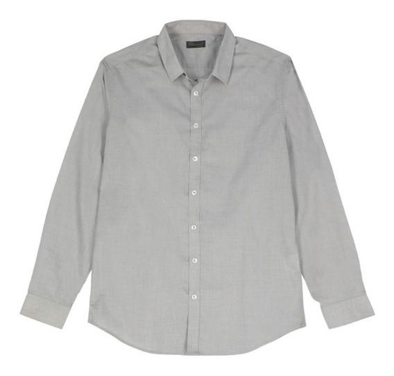 Camisa Básica De Hombre C&a Manga Larga
