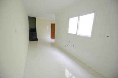 Cobertura Sem Condomínio 44,6m²+ 44,6m², 2 Dormitórios, Escada Interna, Churrasqueira , Pronta, Vila Metalúrgica, Santo André. - Co0651